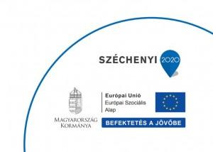 Széchenyi2020 EU ESZA logó